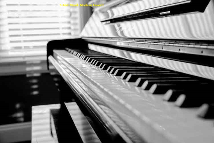 5 Alat Musik Modern Favorit