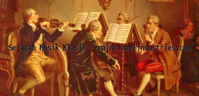 Tokoh Penting Dalam Sejarah Perkembangan Musik Klasik